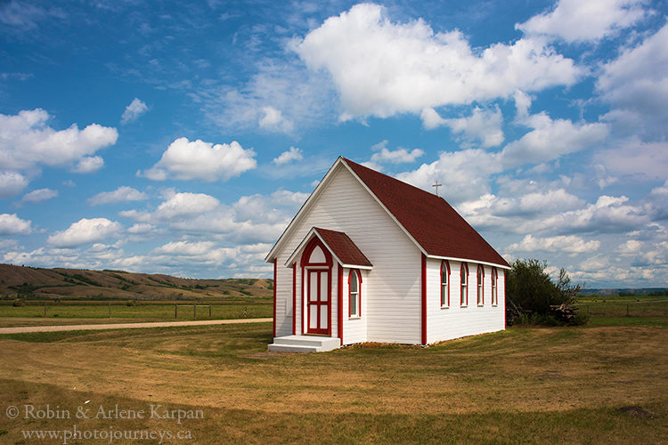 Anglican Church in Ellisboro, built in 1897.