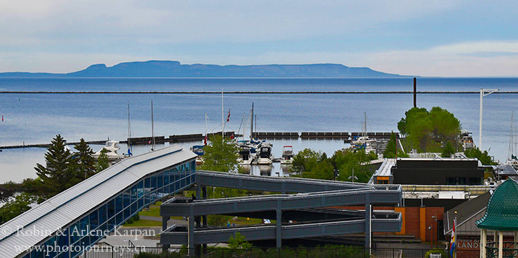 View of sleeping giant, Thunder Bay