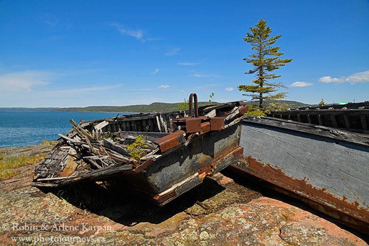 Neys Provincial Park, Lake Superior Ontario