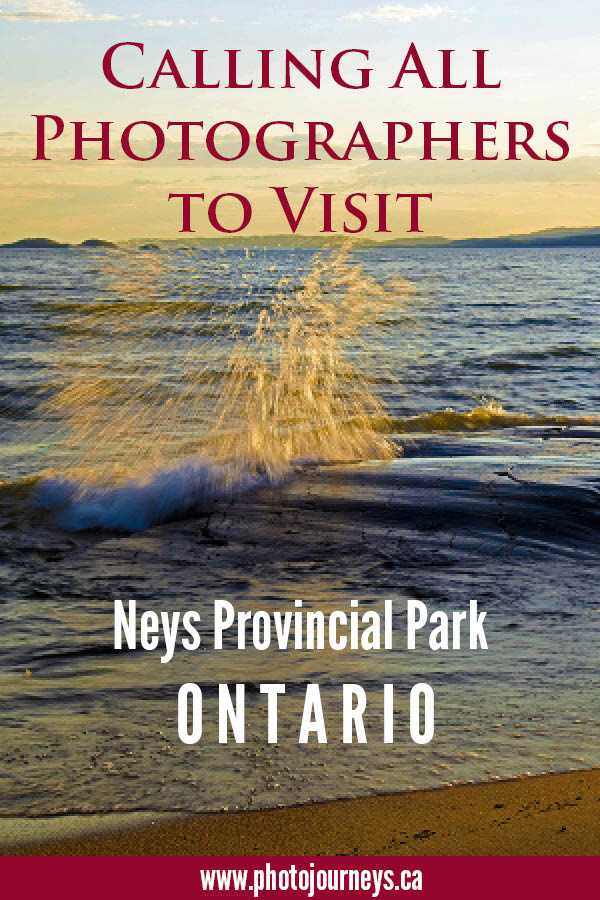 PIN for Neys Provincial Park