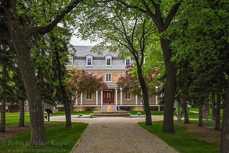 Archbishop's residence, St. Boniface, MB, Canada