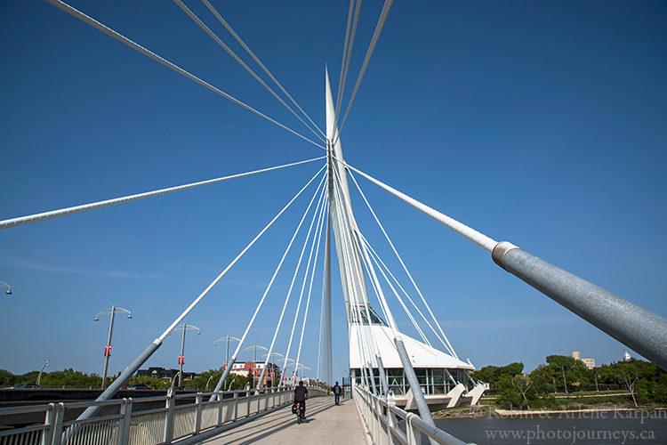 Esplanade Riel, Winnipeg, MB, Canada