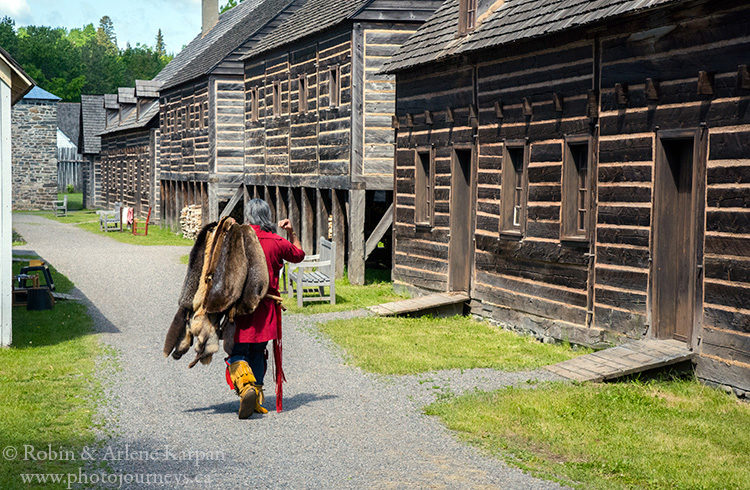 Fort William Historical Park, Thunder Bay, Ontario, Canada