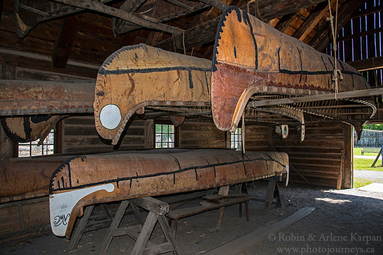 Fort William Historical Park, Thunder Bay, ON, Canada