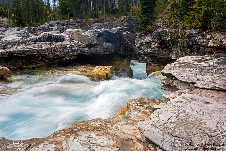 Waterfall in Marble Canyon