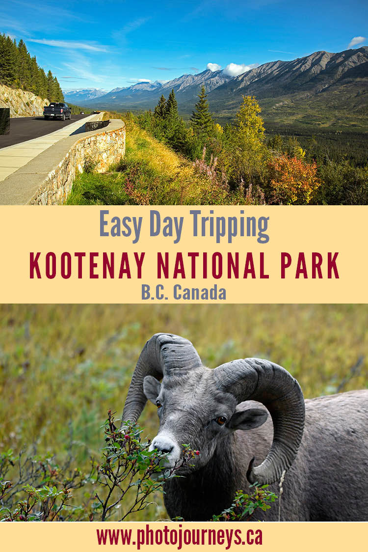 Kootenay National Park PIN