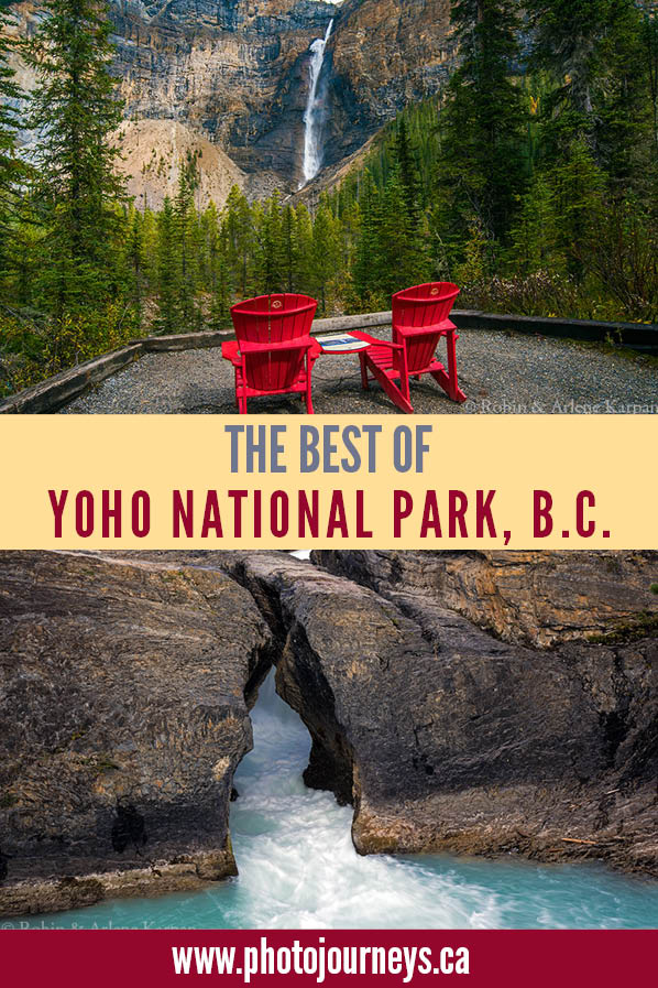 PIN for Best of Yoho National Park article