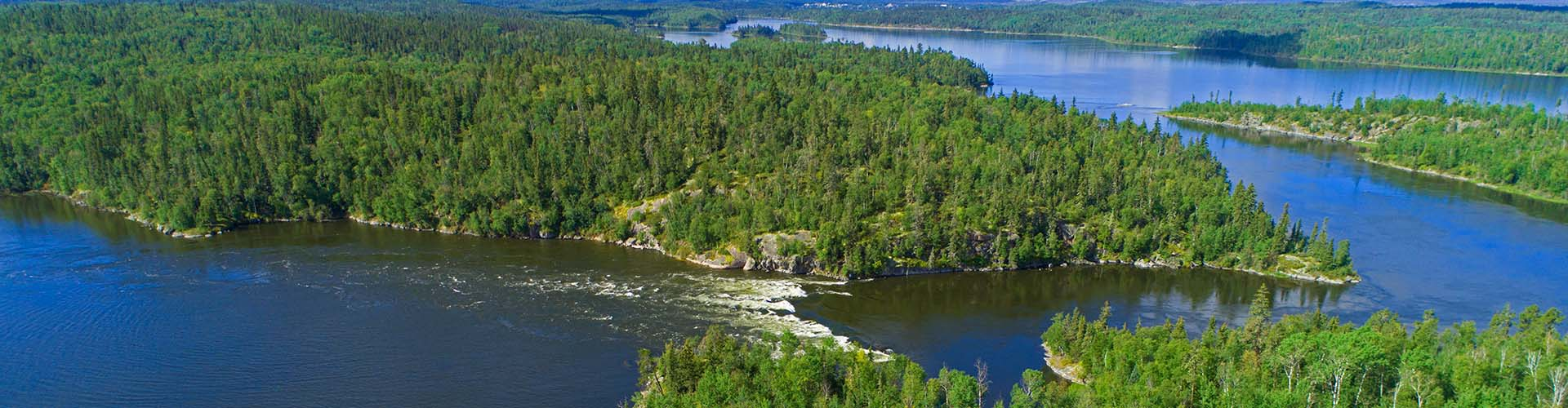 Stanley Rapids, Churchill River, Saskatchewan