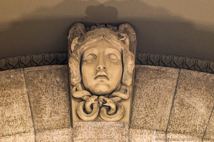 Medusa, Manitoba Legislative Assembly Building, Winnipeg, Manitoba