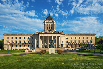 Maniitoba Legislative Assembly Building, Winnipeg.