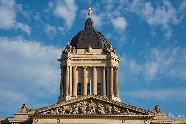 Manitoba Legislative Assembly Building, Winnipeg, Manitoba