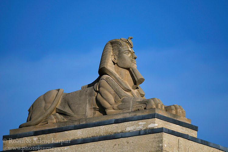 Sphinx, Manitoba Legislative Assembly Building, Winnipeg, Manitoba