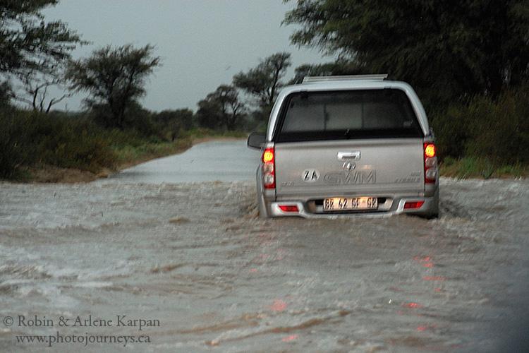 Flood, Kalahari Desert