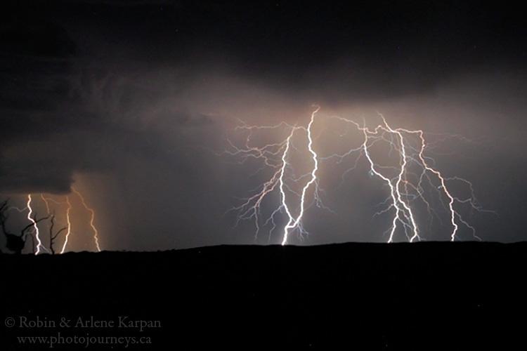 Storm clouds, Kalahari
