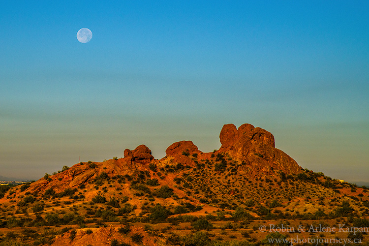 Papago Park, Phoenix, Arizona