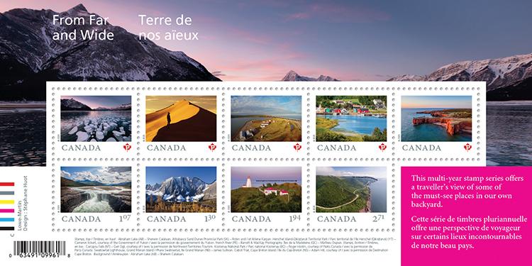 Postage souvenir sheet