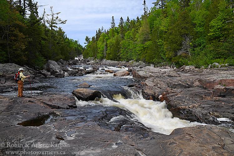 Sand River, Lake Superior Provincial Park, Ontario