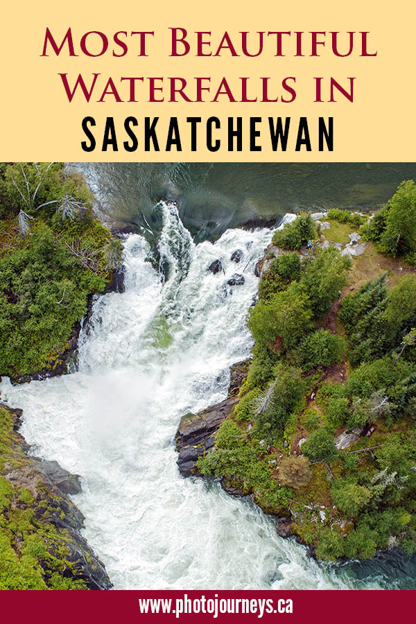 PIN for Saskatchewan Waterfalls