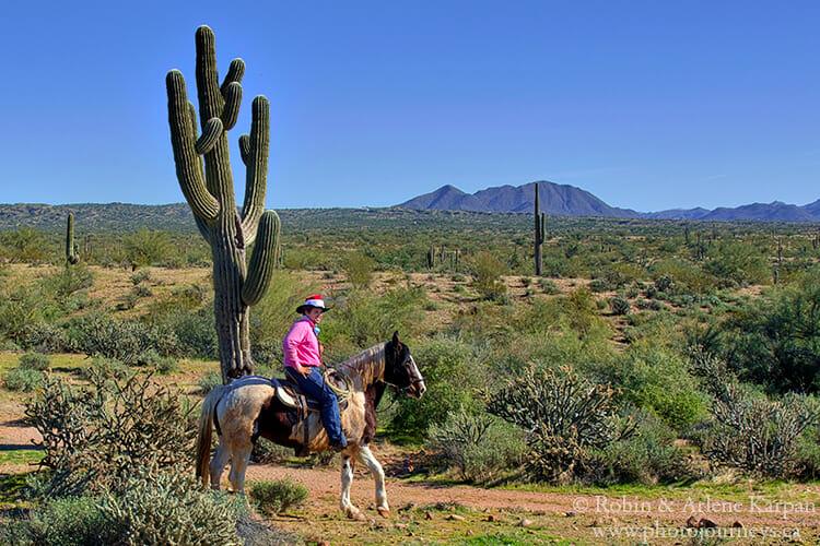 Fort McDowell Adventures ride, Phoenix, AZ