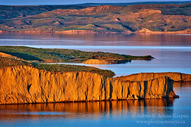 Lake Diefenbaker Saskatchewan