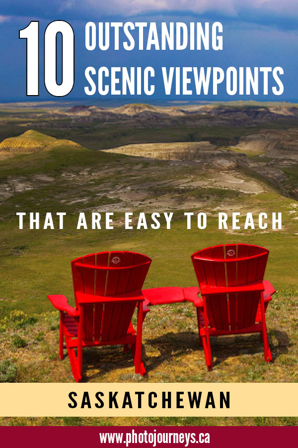 PIN for Scenic Viewpoints in Saskatchewan
