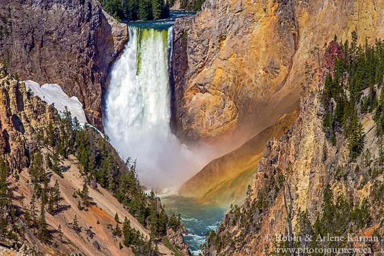 Falls, Yellowstone National Park