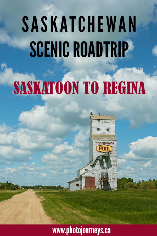 PIN for Saskatoon to Regina scenic drive