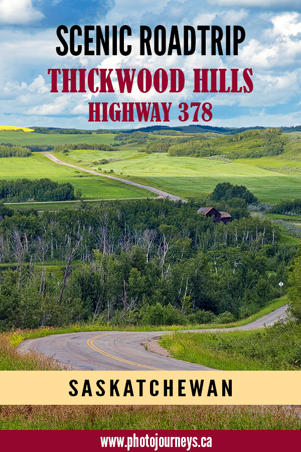 PIN for Highway 378 Thickwood Hills Scenic Drive