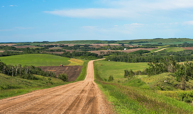 Burma Road, Saskatchewan