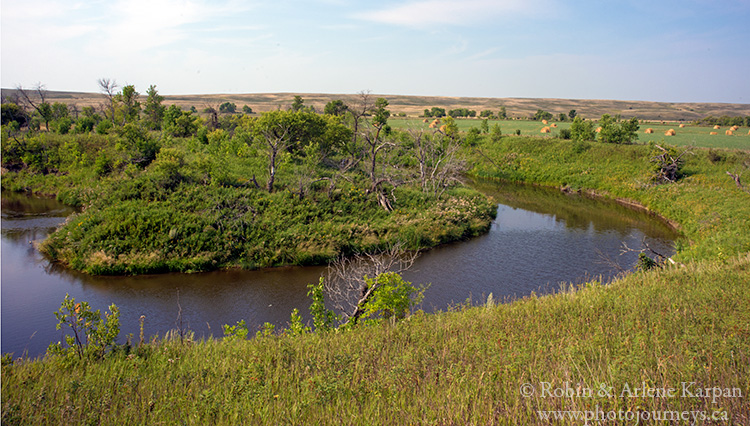 Souris River Valley, southern Saskatchewan, Canada