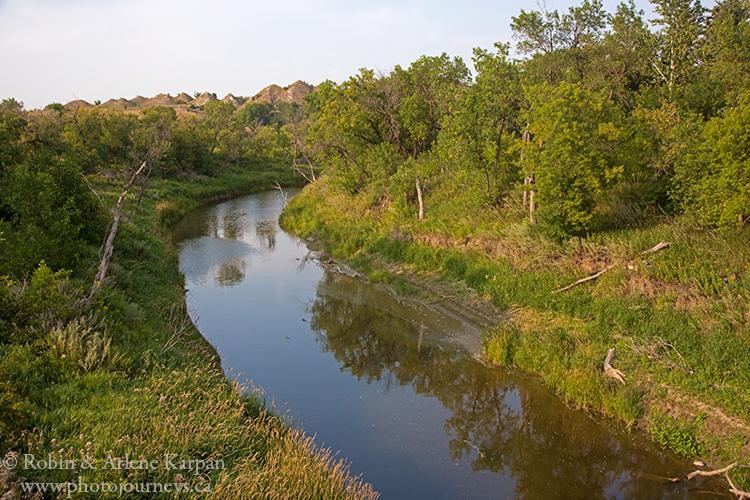 Souris River, southern Saskatchewan, Canada