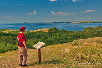 The Battlefords Provincial Park, Saskatchewan