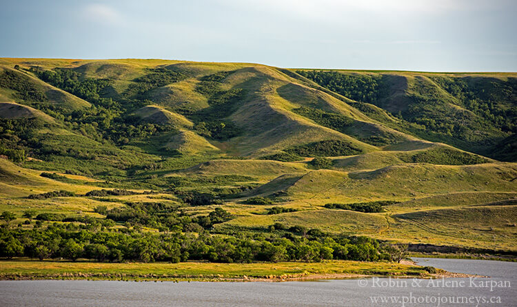Valley slopes of Saskatchewan Landing Provincial Park, Saskatchewan