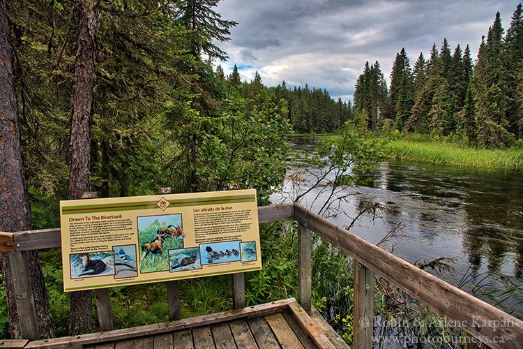 Waskesiu River, Prince Albert National Park, Saskatchewan