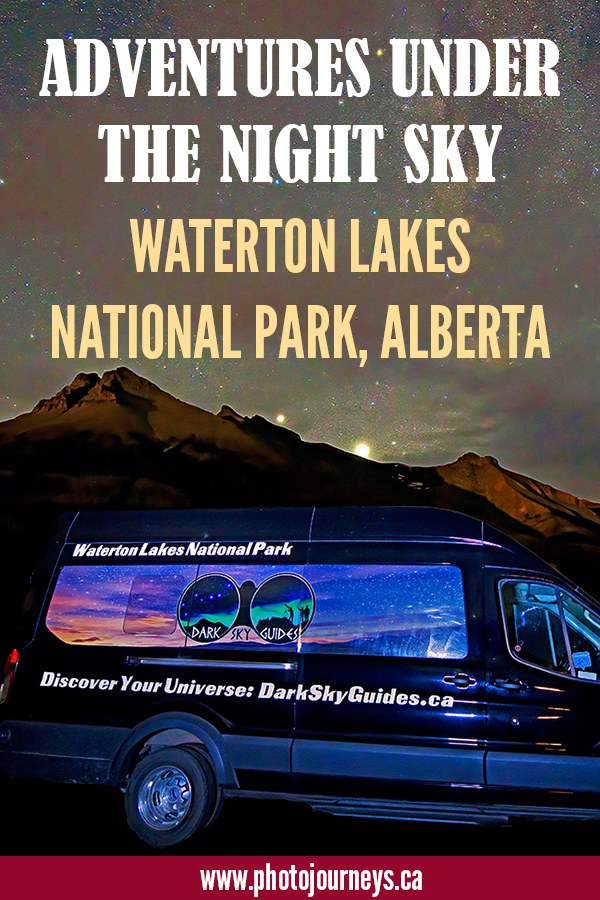 PIN for Waterton Dark Sky posting