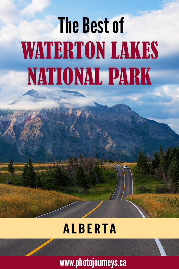 PIN for Best of Waterton Lakes post