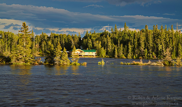 Twin Falls Lodge, Churchill River, northern Saskatchewan