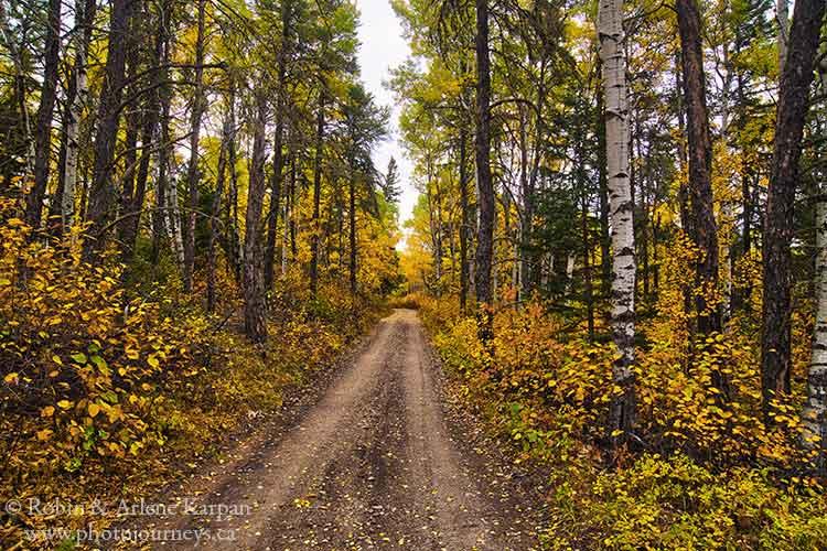 Narrow Hills Scenic Drive, Saskatchewan