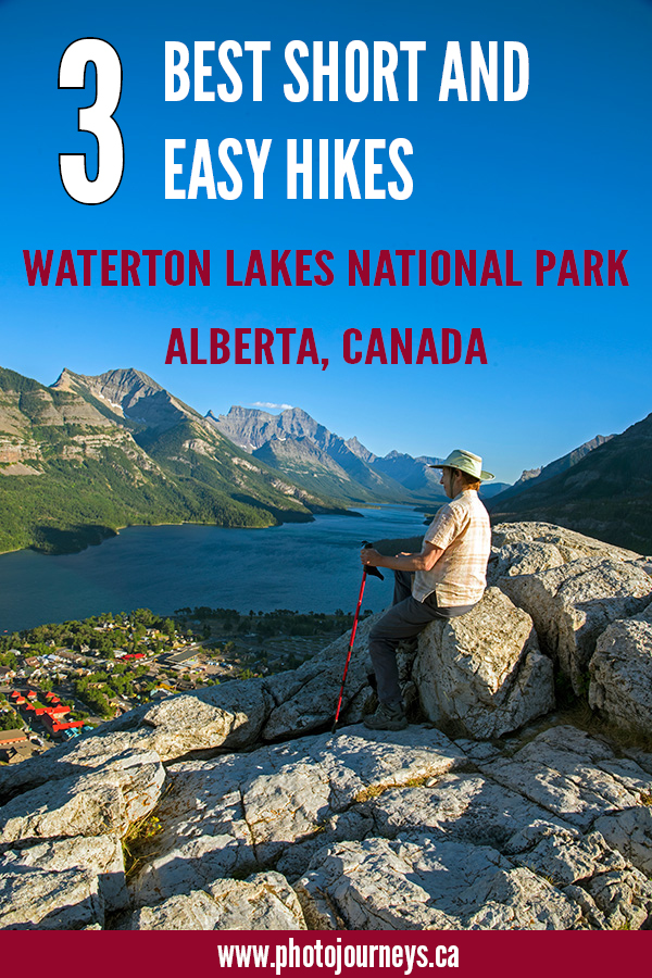 PIN for Hiking in Waterton Lakes National Park
