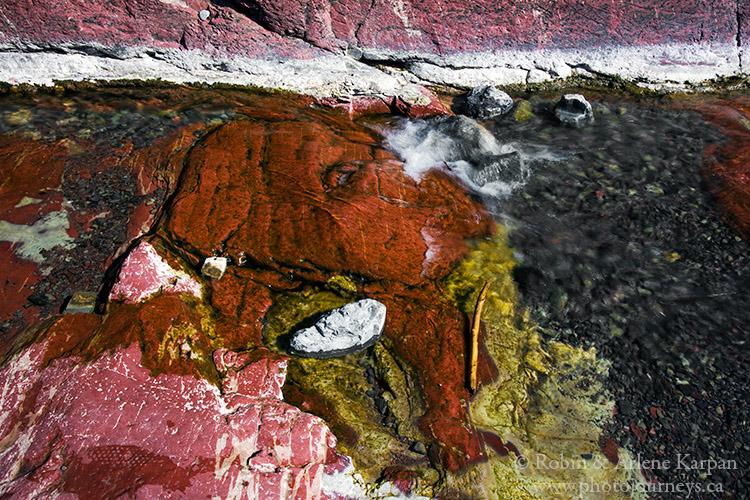 Waterton Lakes National Park, Red Rock Canyon