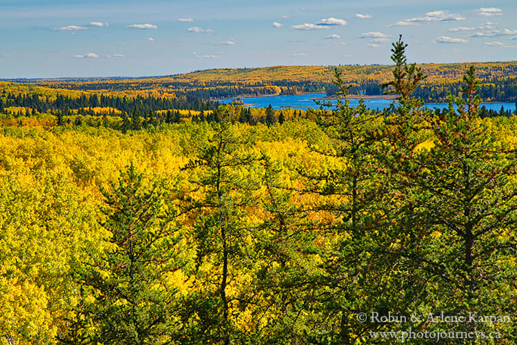 Spruce River Highlands Trail, Prince Albert National Park, Saskatchewan