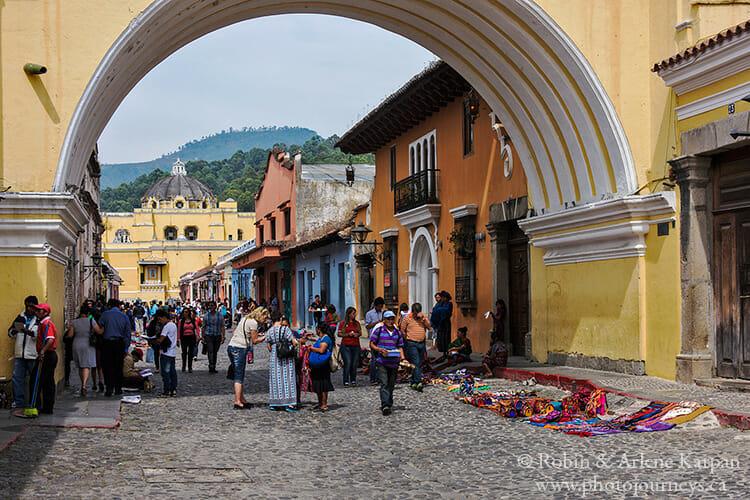 Antigua, Guatemala destination on Aeroplan trip