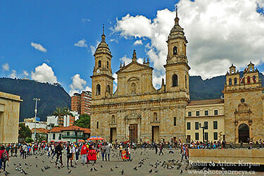 Bogota, Colombia, our latest Aeroplan destination