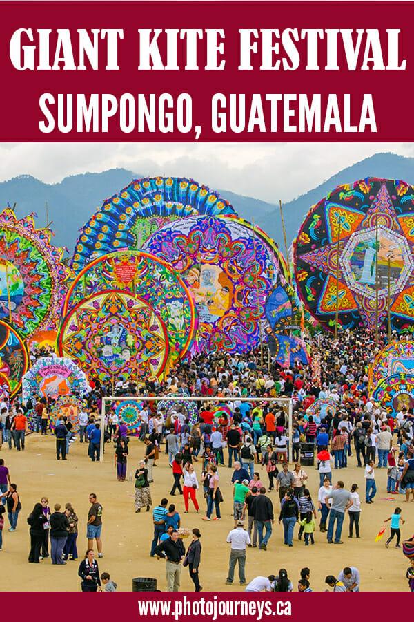 PIN for Kite Festival, Sumpongo, Guatemala
