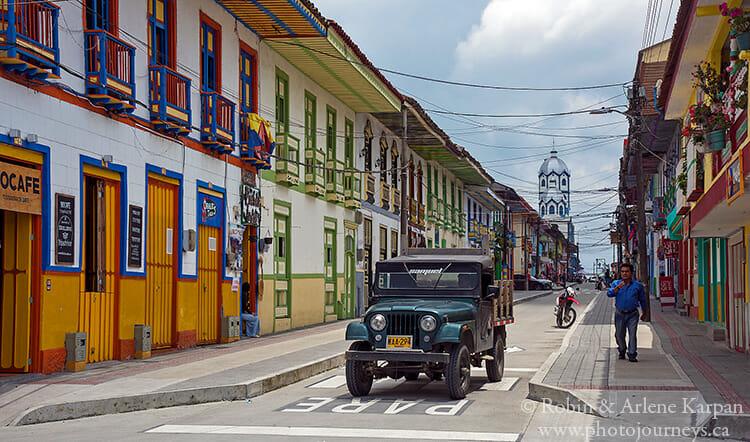 Street, Filandia, Colombia