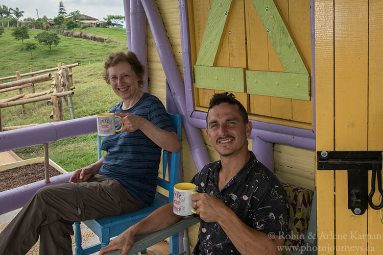 Coffee farm, Colombia
