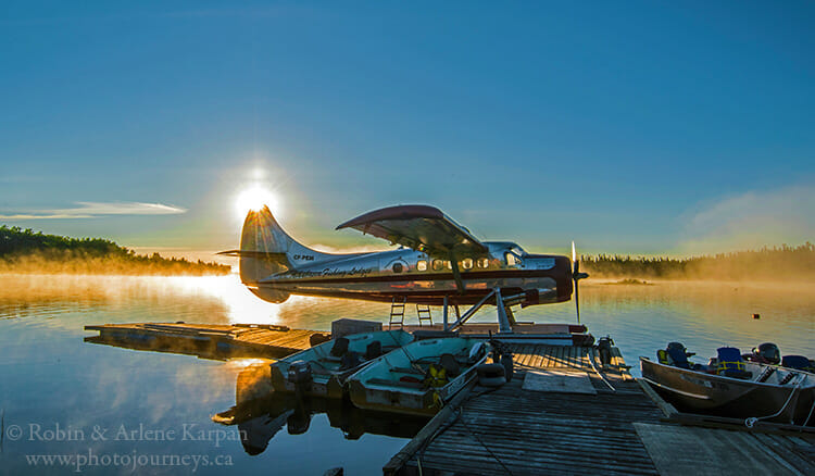 Float plane, Athabasca Fishing Lodges