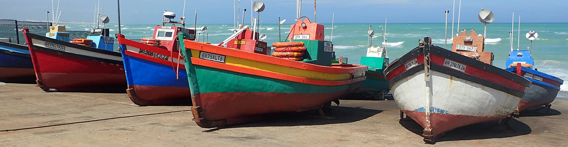 fishing boats, South Africa