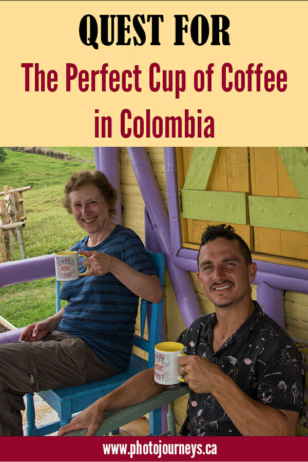 PIN for Colombia coffee post
