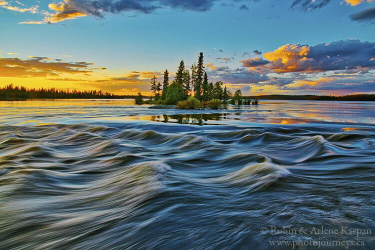 Churchill River, Saskatchewan